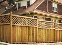 Wooden fencing options Grand Rapids, Michigan